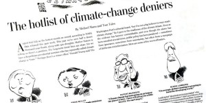 Climate change, human activity, scientific consensus