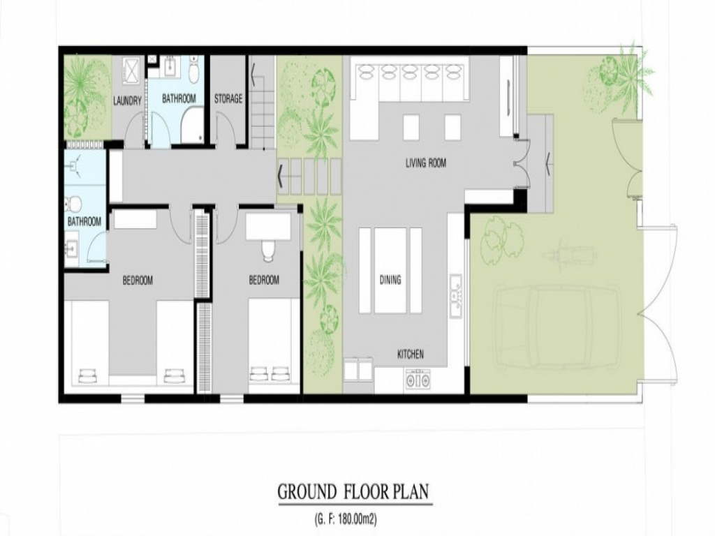 Modern Home Floor Plan Modern Small House Plans, Modern