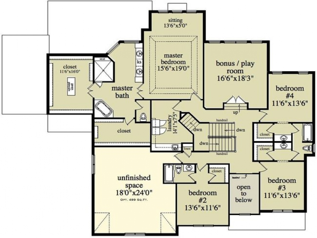 2 Story House Floor Plans And Designs Sims 2 Houses Floor