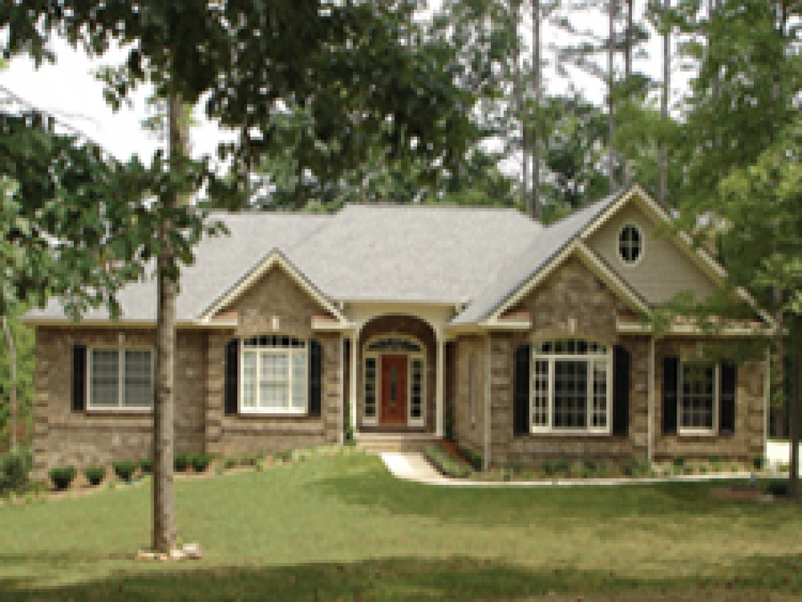 One Story Exterior House Designs Best One Story House