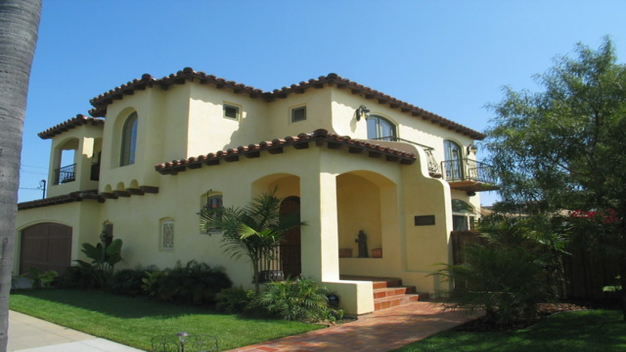 Small Spanish Style Homes Plans Spanish Hacienda Style Homes Spanish Colonial Style Homes