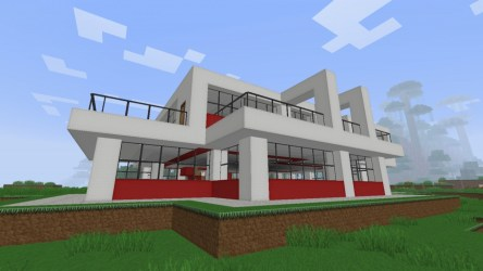 minecraft modern simple project super houses joke treesranch published planetminecraft pm