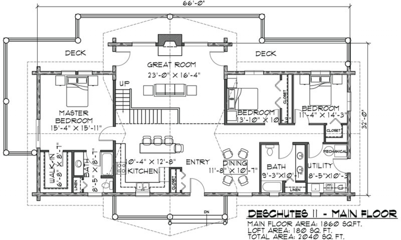 2 Story Log Cabin Floor Plans Two-Story Modular Home