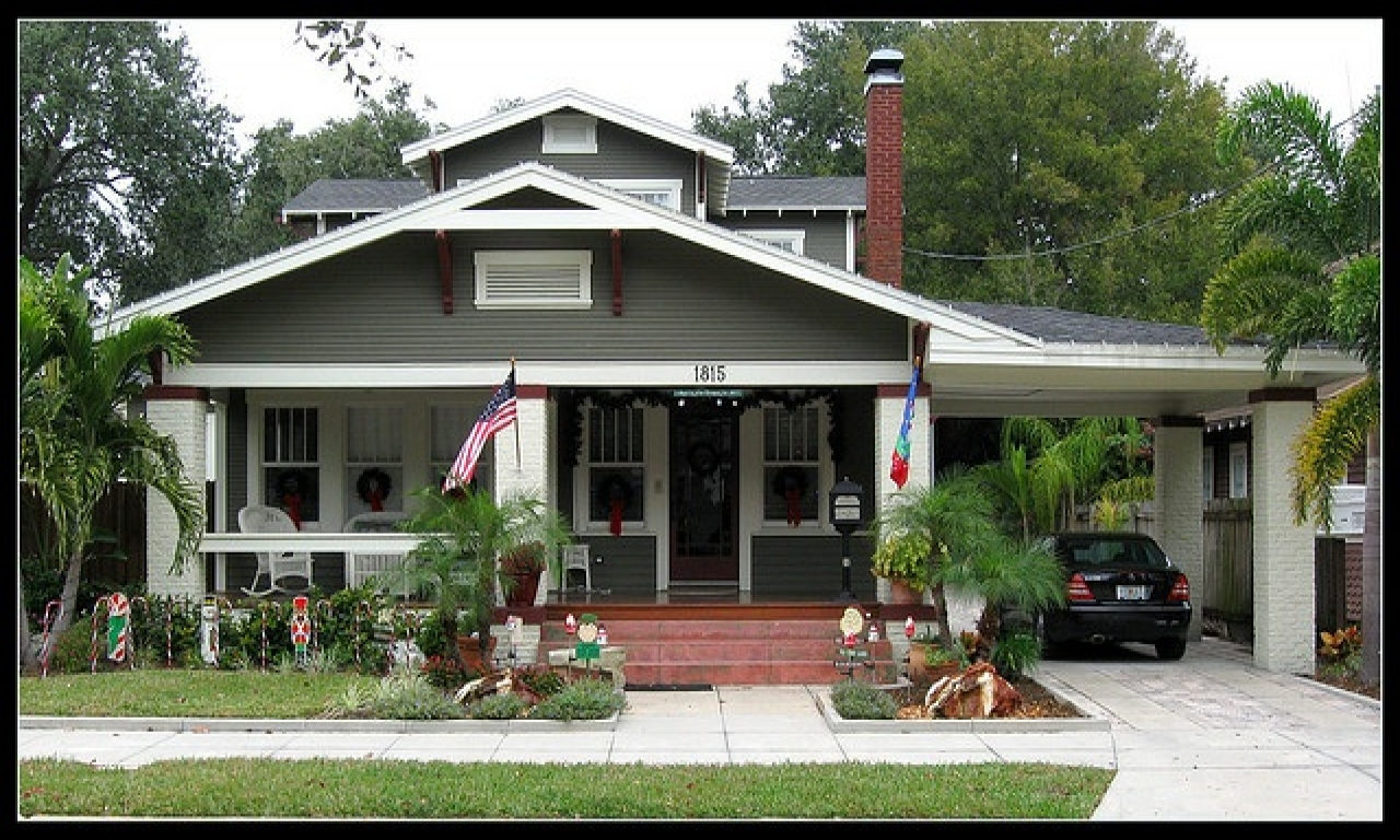 Bungalow Style Homes With Porte Cochere Cape Cod Style