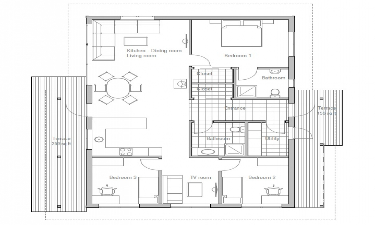 Small Affordable House Plans Very Small House Plans, Micro
