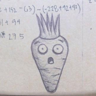 shocked carrot