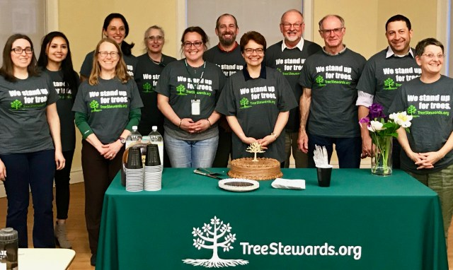 Tree Stewards graduates 2019