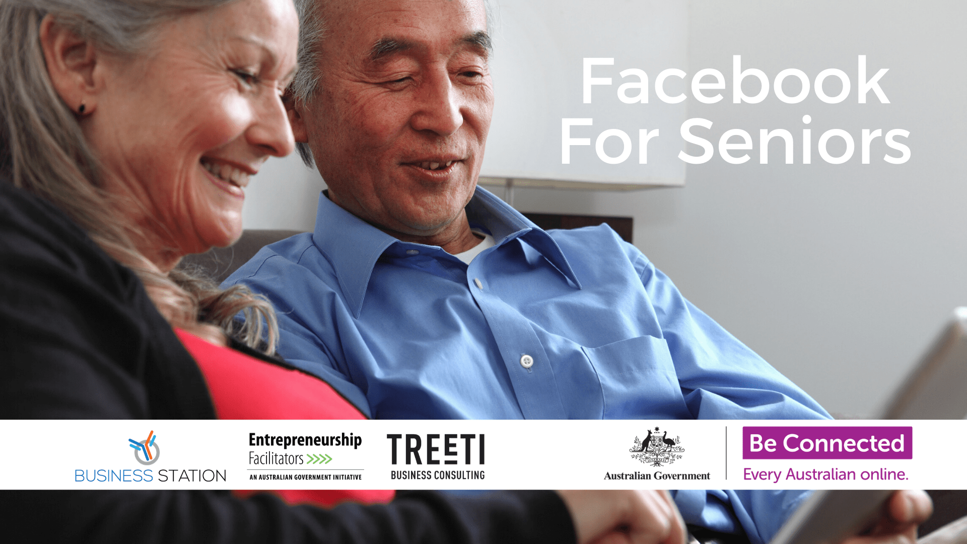 BeConnected: Facebook for Beginners & Seniors