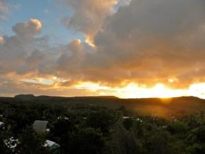 Sunrise from Los Mariposas, Las Galeras, Dominican Republic