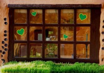 Casita Verde natural Building Window
