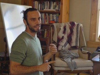Doug teaching at the Winter weekend PDC, Cincinnati, OH, USA