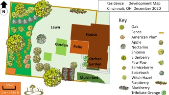 permaculture design map