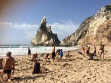 Praia de Ursa landscape modeling, and well relaxing