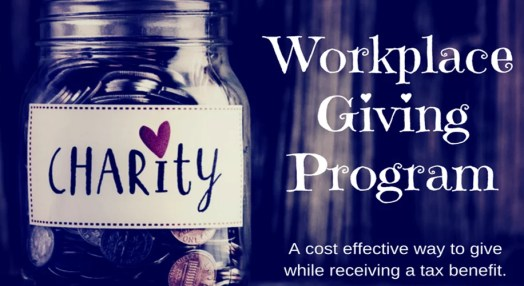 Workplace Giving Program Charity Donation Jar
