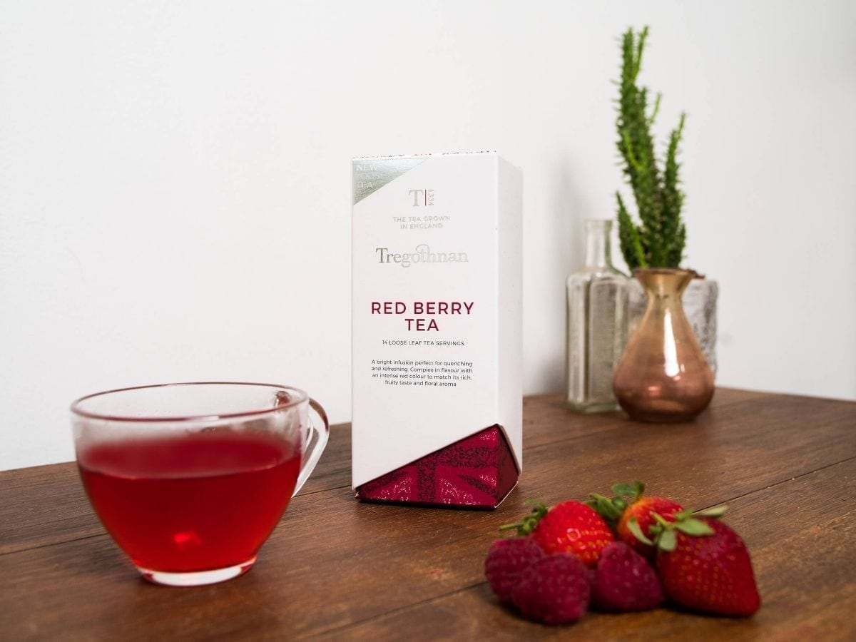 red berry cold tea