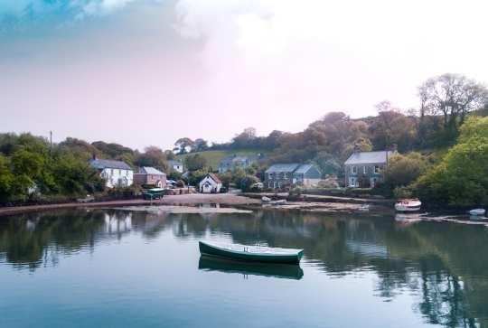 Boat In Estuary