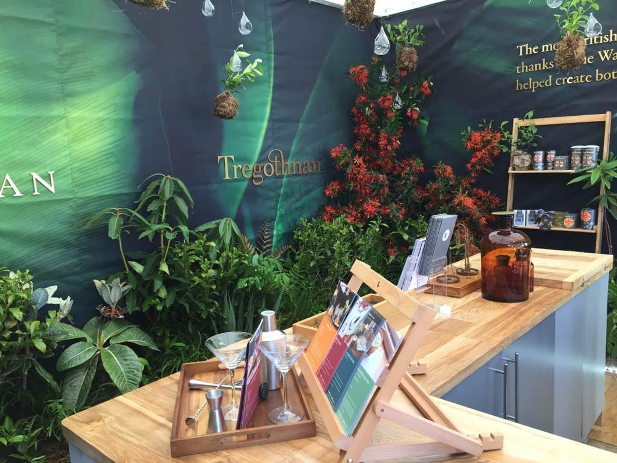 Tregothnans Tea Stand at the the RHS Chelsea Flower Show 2017