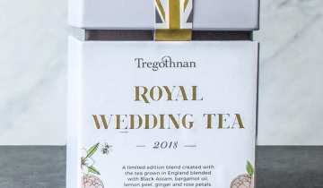 Raising a toast with a tea cup | Royal Wedding Afternoon Tea