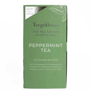 peppermint 25 box on a white background