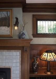 Craftsman Fireplace - Trehus Architects