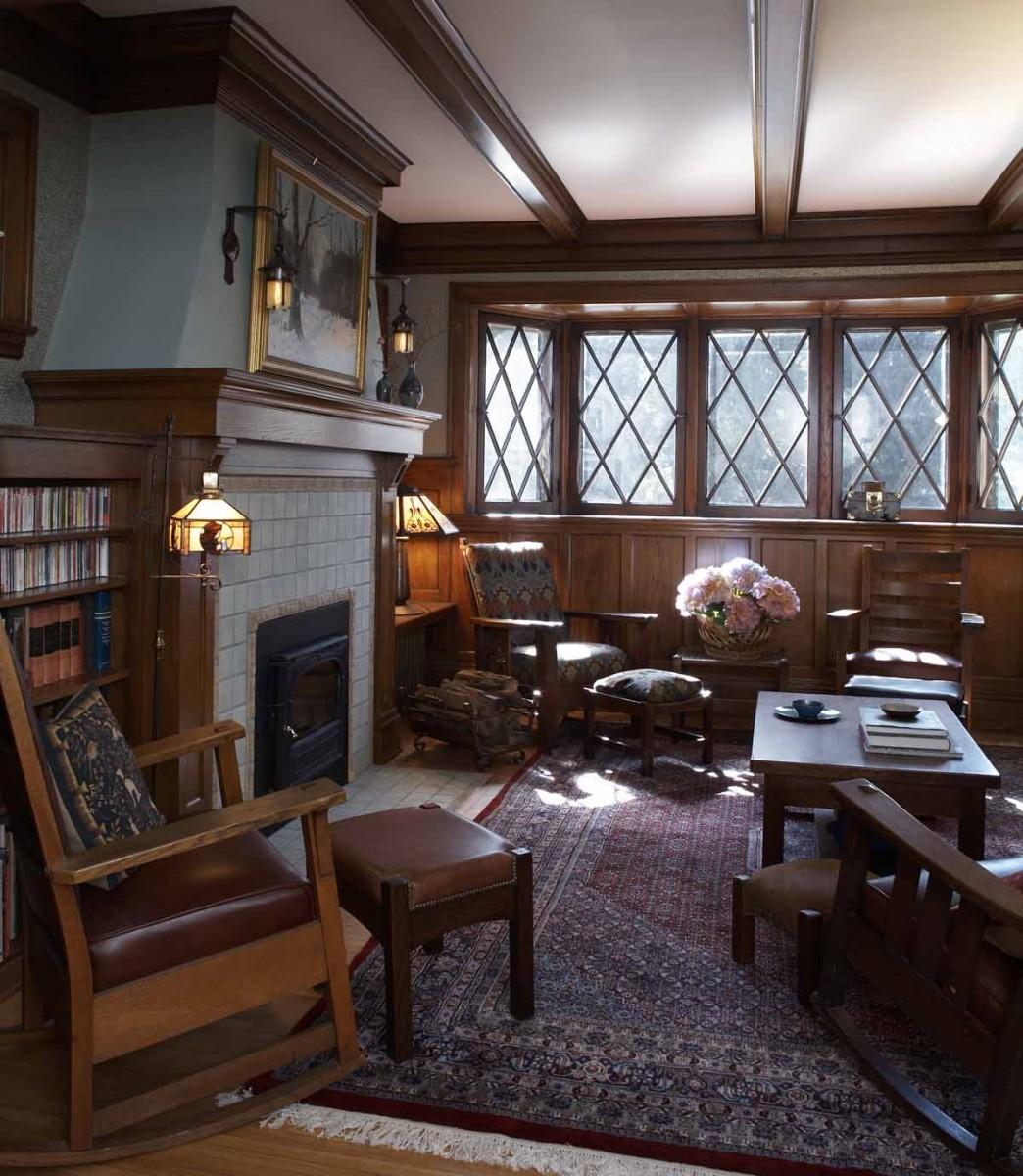 Tudor Fireplace