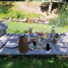 Picknick im Kurpark Bad Herrenalb