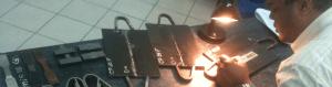 Slide do Retreinamento Personalizado para Inspetor de Soldagem