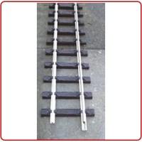 product afbeelding Thiel Flexibel rails 240 cm lang nikkel