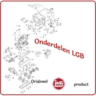 LGB onderdelen