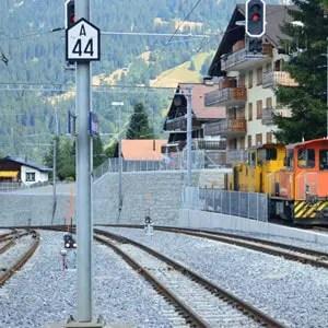Vernikkeld rails