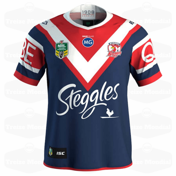 Maillot domicile Sydney Roosters