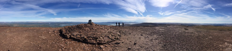 Pen-Y-Fan Summit - 886m