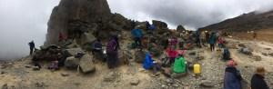 Lava Tower lunch break
