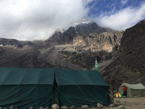 View from my tent at Baranco