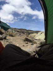 Karanga Valley - View from my tent