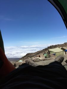 Barafu - View from my tent
