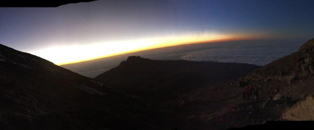 Sunrise at Stella Point