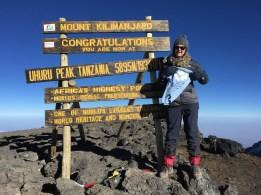 Sarah, Blue Skye Thinking and Uhuru Peak