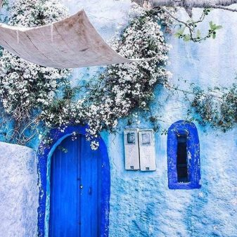 Image result for morocco blue city