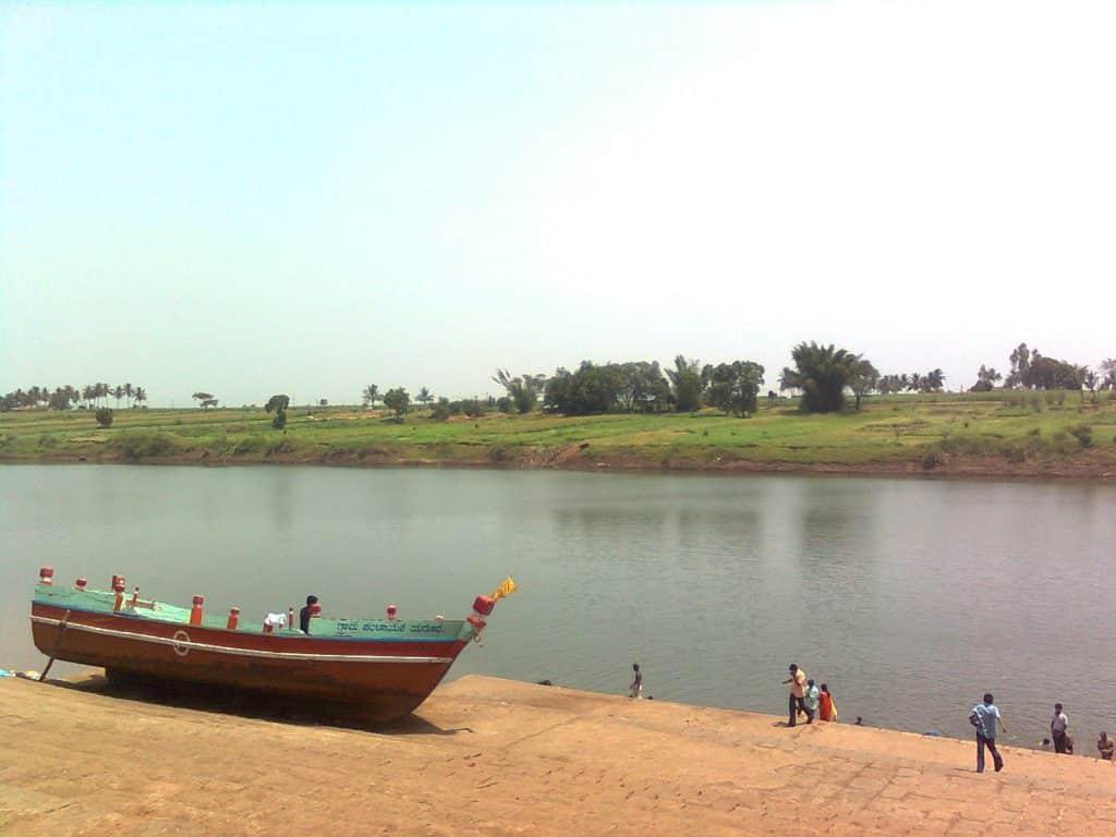 Beautiful river at Yedur