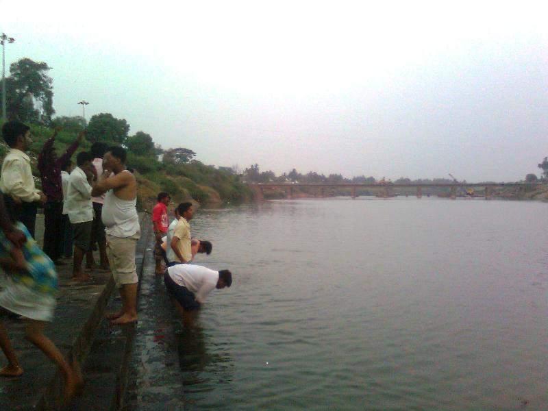 krishna river Narsinhwadi narsobawadi