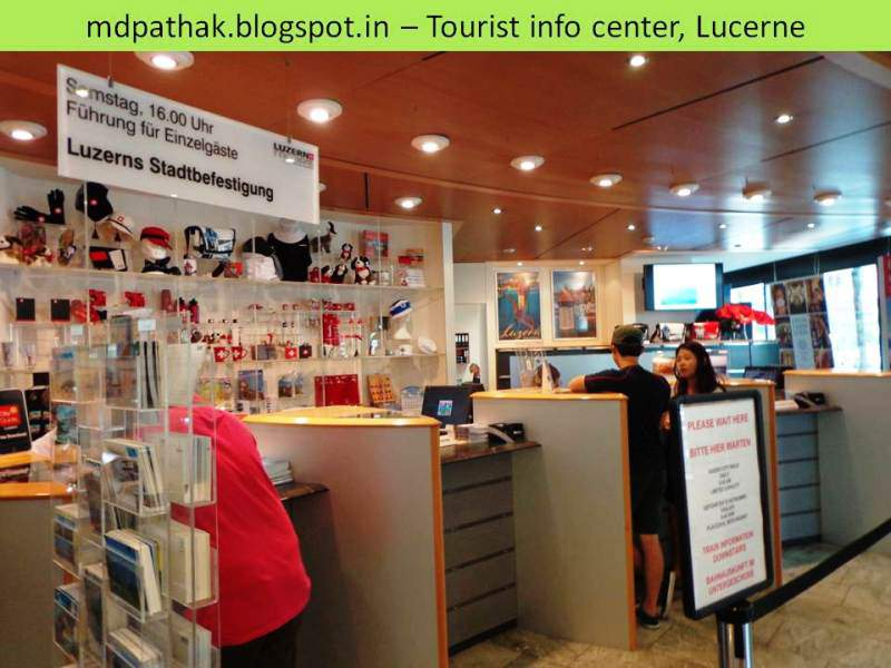 Tourist info center lucerne
