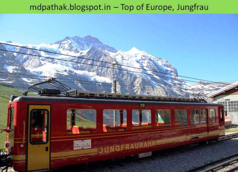 jungfraubahn train carrier