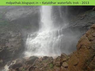 caves inside kataldhar waterfall