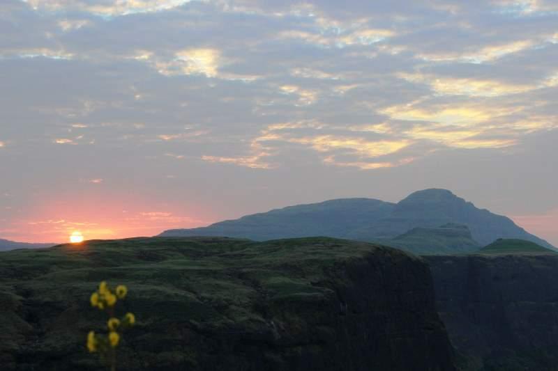 sunrise harishchandragad