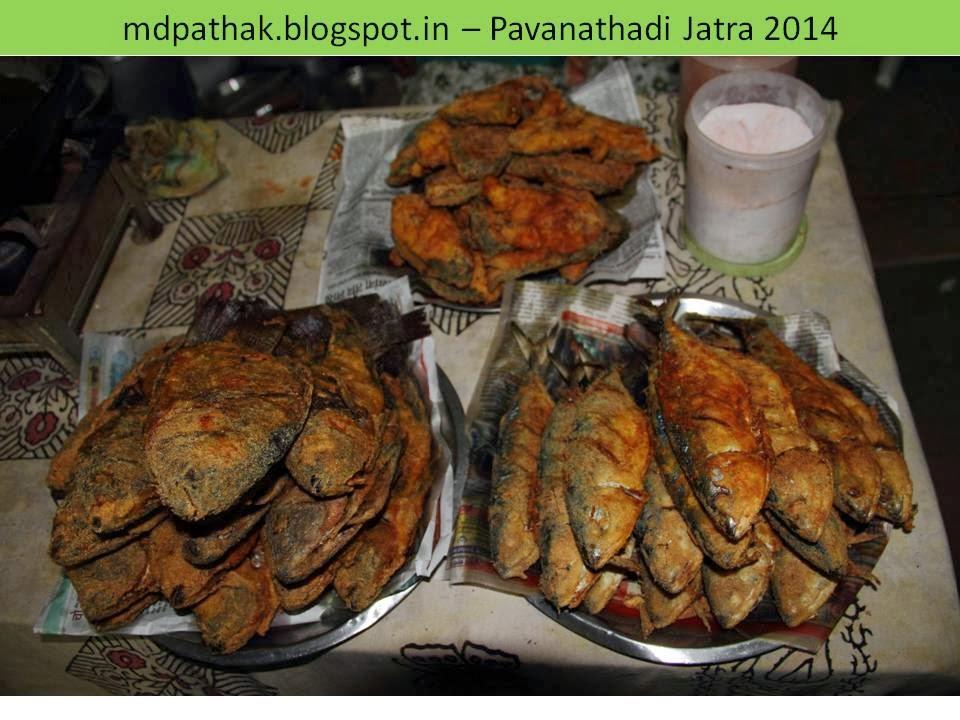 river fish fry PavanaThadi Jatra