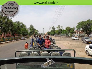 travel in open cantors - Sawai madhopur