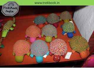 tortoise souvenir Ranthambore India