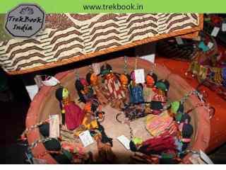 dolls keychain souvenir Ranthambore India