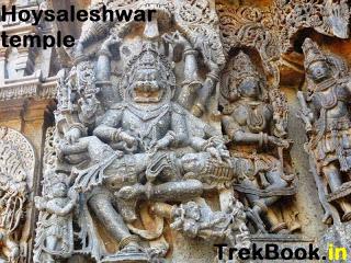 Narsimha tearing apart Hiranyakashyapu